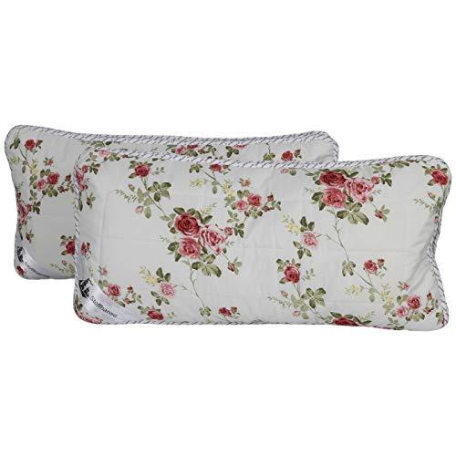 Stoffhanse Kissen 40 x 80 cm, 2er Set, floral | Bettwaren | Kopf-Kissen | nach Öko-Tex Standard