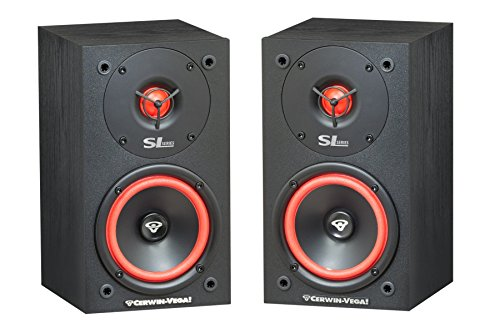 "Cerwin-Vega SL-5M 5 1/4"" 2-Way Bookshelf Speaker, Pair"