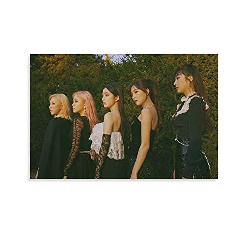 Star Girl Group Red Velvet Kpop Reve Festival Finale Teaser Irene Joy Seulgi Wendy Member Collection Impresiones Pintura Nórdica Decoración Sala Decoración del Hogar 20 x 30 cm