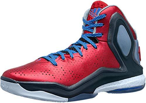 adidas D Rose 5 Boost Hombres Zapatillas de Deporte/Zapatos de baloncesto-Red-54.5