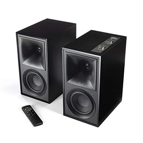 Klipsch The Fives Powered Speaker System (Matte Black) (Renewed)