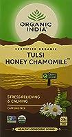 Tulsi Tea Honey Chamomile - 18 Tea Bags - Case of 6 by Organic India