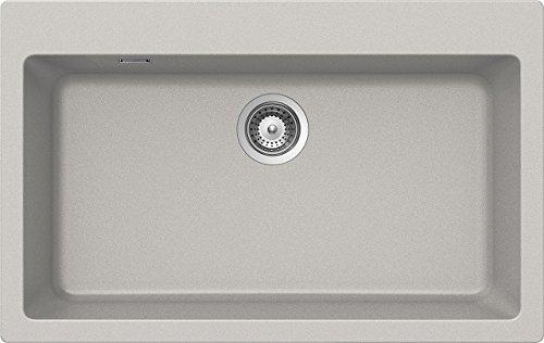 Schock Primus N100XL AP 04 - Fregadero (Undermount sink, Rectangular, Aluminio, Rectangular, 720 x 384 mm)