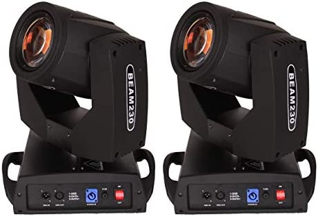 Samger 230W Party Stage Light 8 Prism 7R DMX 16CH Moving Head Light with 14 Colors 17 Patterns product image