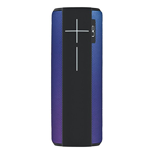 Ultimate Ears Megaboom Tragbarer Bluetooth-Lautsprecher, Satter Tiefer Bass, Wasserdicht, App-Navigation, Kann mit weiteren Lautsprechern verbunden werden, 20-Stunden Akkulaufzeit - purpley/lila