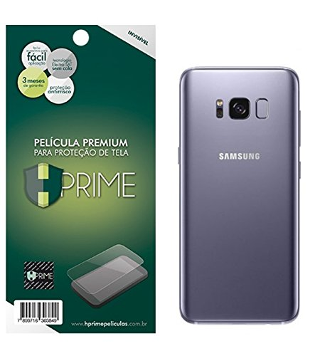 Pelicula Hprime invisivel para Samsung Galaxy S8 Plus - VERSO, Hprime, Película Protetora de Tela para Celular, Transparente