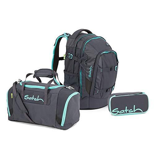 Satch Pack BTS2020 Schulrucksack Set 3tlg. (Rucksack+Etui+Sporttasche) (Mint Phantom)