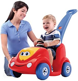 Step2 Push Around Buggy Anniversary Edition Ride On Toy, Red and Blue - 717000