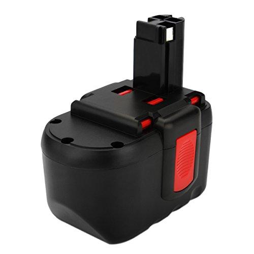 Shentec 24V 3.5Ah Ni-MH Batería para Bosch BAT030 BAT031 BAT240 BAT299 BH-2424 BTP1005 GLI24V GMC24V GSR 24VE-2 GBH24VF GSA24V 2607335280 2607335445 2607335446 2607335509