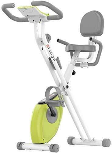 MLL Bicicleta estática para el hogar Entrenamiento Cardiovascular Bicicleta giratoria silenciosa con Resistencia Ajustable Fitness Interior Stepper Fitness Entrenador de Ejercicios cardiovasculares