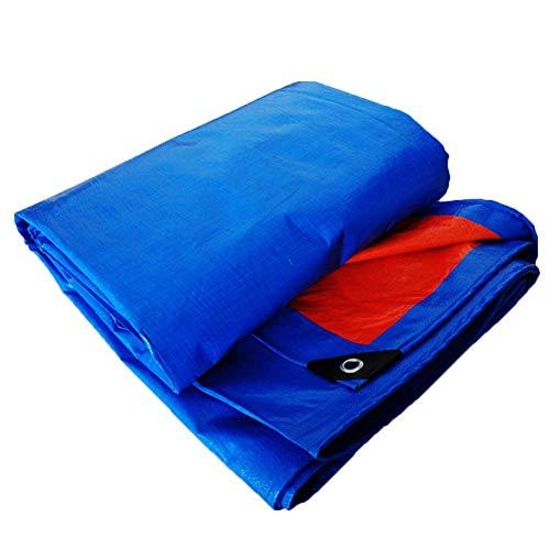 tarpaulin Markisenstoff Markisentuch Klemmmarkise Sonnenschutz Markisen Leinenplane Linoleum Regenschutz Visiertuch, 180g / M2 MY1MEY (größe : 5 * 6m)