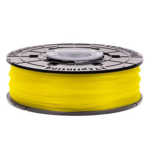 XYZprinting PLA Filament, 1.75 mm, 600 g NFC Spool, Yellow, RFPLCXEU0EC