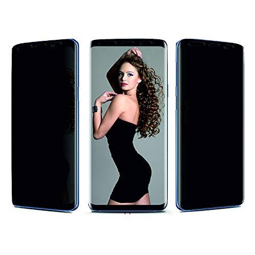 Arrivly Pellicola Protettiva Anti Spia per Samsung S9/S8 Protezione Privacy Schermo [Anti-Spy] Senza Bolle TPU Display Screen Protector Flessibile [Non Vetro Temperato] (Galaxy S9)