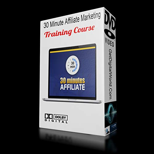 30 Minute Affiliate Marketing DVD Training Course