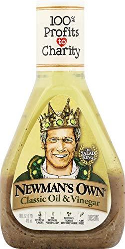Newman's Own Classic Oil & Vinegar Salad Dressing, 16-oz. (Pack of 6)