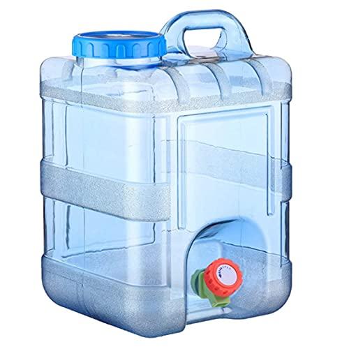 15l / 20l Cubo De Agua Contenedor De Agua Portátil Con Soporte De Botella De Agua De Grifo Para Acampar Senderismo Cubo De Viaje Al Aire Libre Cubo De Emergencia Almacenamiento De Emergencia(Size:20L)