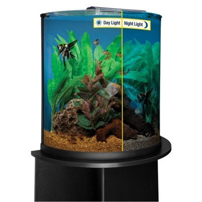 Marineland (Aquaria) AML11536 Glass Half Moon Shaped Aquarium