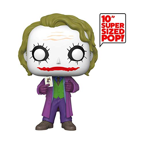 Funko- Pop Movies: DC-10 DC Joker Figura Coleccionable,