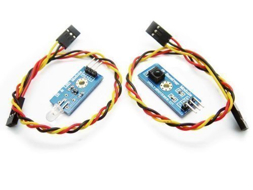 Tolako 38KHz IR Transmitter and Receiver Kit for Arduino (1PCs)