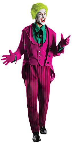 Rubie's Grand Heritage Joker Classic TV Batman Circa 1966, Multi-Colored, X-large Costume