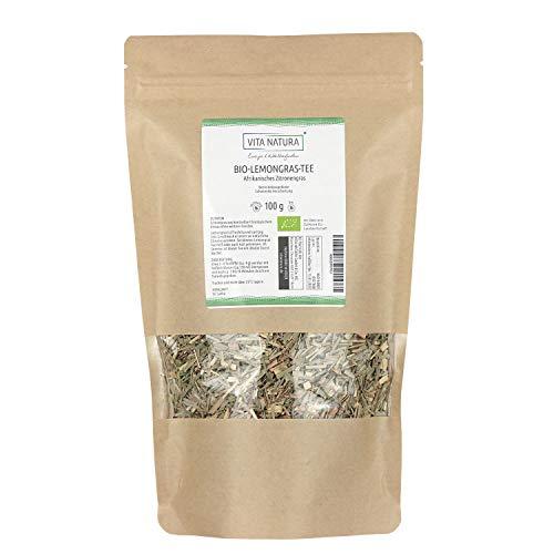 Vita Natura Lemongras Tee, Zitronengras, Bio, 1er Pack (1x 100 g)