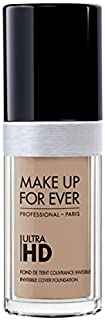 Foundation Ultra Hd Fluid Foundation Ultra Hd, 125-Y315 SAND, Authentic 100% From Paris France (Smooth, Oil Free , Cover Ance Dark Spot , Brightening) 30ml