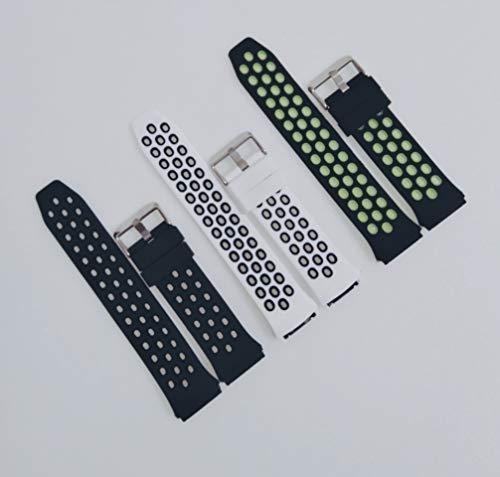 (3 Uds) Muy suave correa compatible con Huawei Watch GT2e, repuesto para reloj inteligente colores (Pack 1)