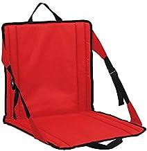 PORTAL Lightweight & Portable Stadium Seat for Bleachers, Red