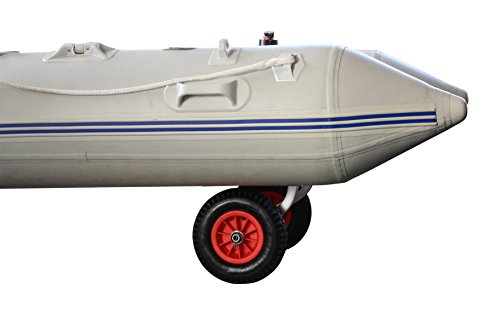 """Brocraft Boat Launching Wheels/Boat Launching Dolly 12"""" Wheels for Inflatable Boats & Aluminum Boats"""