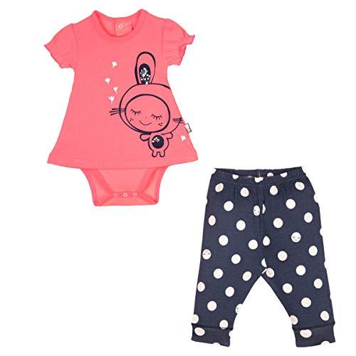 Ensemble bébé fille Body tunique + Legging Minilutin - Taille - 12 mois (80 cm)