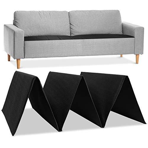 Meliusly Sofa Cushion Support Board - Strong Couch Supports for Sagging Cushions - Improve Firmness of Your Saggy Furniture Seat, Under Couch Cushion Support (17x47'' Adjustable Loveseat Insert)