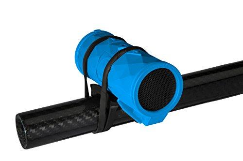 Outdoor Technology OT2301 Buckshot 2.0 Rugged Waterproof Super-Portable Wireless Speaker (Electric Blue), One Size