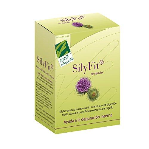 100% natural SilyFit Suplemento de Hierbas - 60 Cápsulas