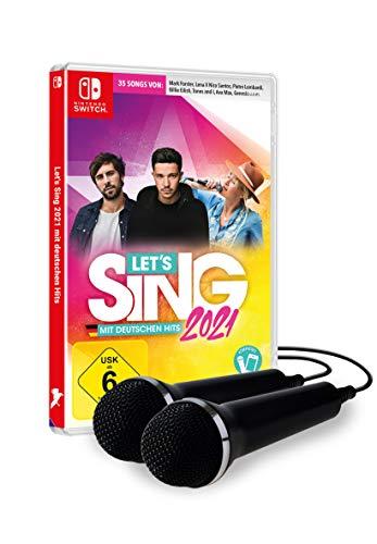 Let's Sing 2021 mit deutschen Hits [+ 2 Mics] - Nintendo Switch [Importación alemana]