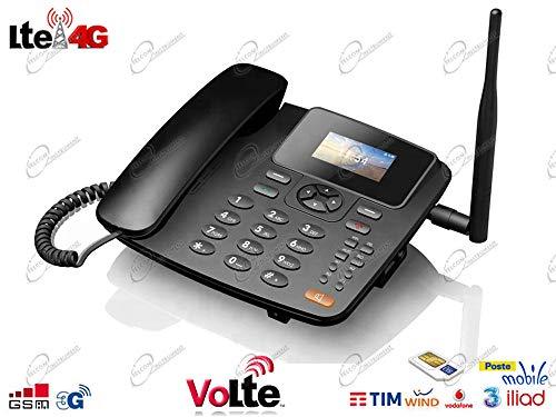 Telefono Smartphone 4G LTE per SIM con Router Hotspot WIFI, connessione Bluetooth, VoLTE, Cornetta,...