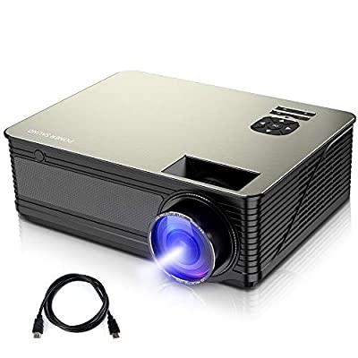 1080P Supported Mini Projector 5500 Lux with 52,000 Hrs...