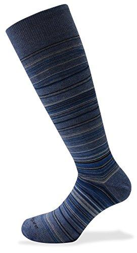 Navigare 12 paia calze LUNGHE cotone caldo - colori assortiti/fantasia - taglia unica - made in Italy