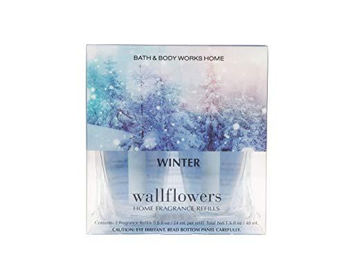 Bath and Body Works Winter Wallflower Refill 2 Bulbs