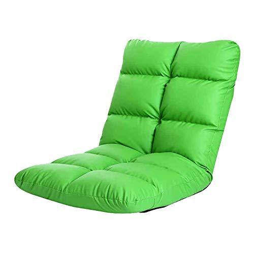 C-K-P Canapé, canapé paresseux, chaise pliante simple, fauteuil (Couleur : Green)