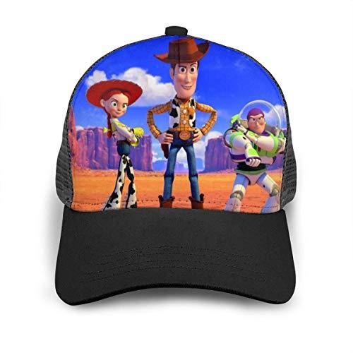 Toy Story Baseball Cap Sombrero de Hip Hop para Hombres...