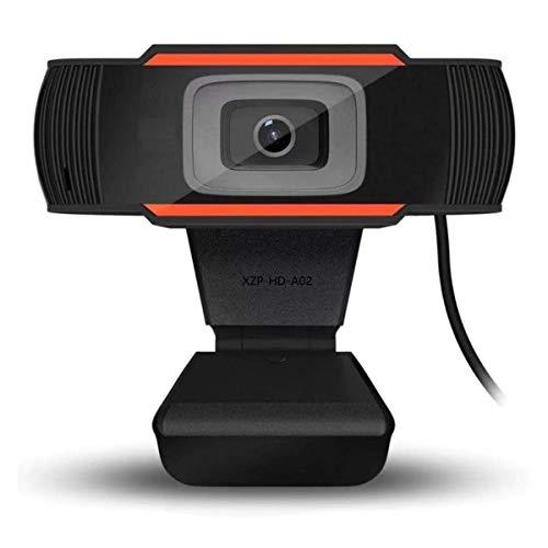Aibecy Webcam, 1080P/ 720P HD Telecamera per videoconferenza Videocamera per computer con microfono con riduzione del rumore Plug & Play USB per videoconferenza Formazione online Insegnamento