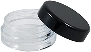 Houseables Cosmetic Sample BPA Free Empty Container - (3 Gram Jar 3 Ml Jar) 50 Pcs