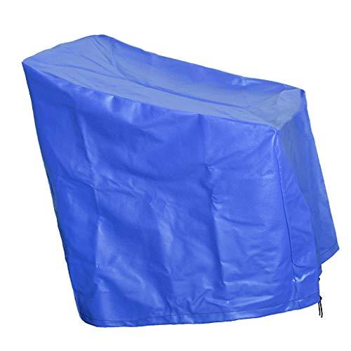 Sharplace Funda de Asiento de Piel Sintética Funda Protectora Funda de Asiento 55 X 46 Cm - Azul
