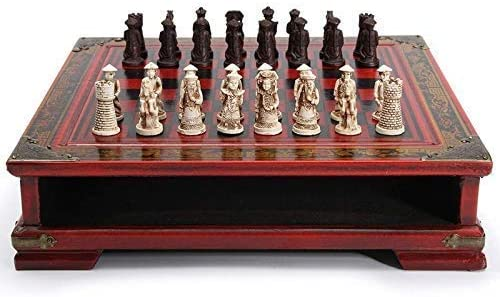 XYSQWZ Soldering International Chess 32Pcs specialty shop Chinese Table Wooden Set