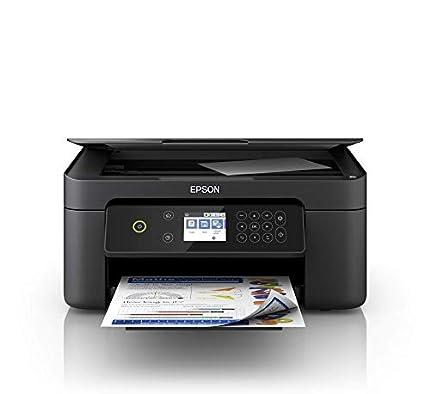 Epson Expression Premium XP-4100 - Impresora multifunción 3 en 1 (impresora, escáner, fotocopiadora, Wi-Fi, dúplex, cartuchos individuales, 4 colores, DIN A4), color negro