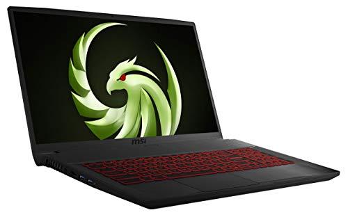MSI Bravo 17 A4DDR-074 (43,9 cm /17,3 Zoll / Full-HD) Gaming Laptop (AMD Ryzen 7 4800H, 4GB RAM, 512GB PCIe SSD, AMD Radeon RX5500M 4GB, Windows 10)