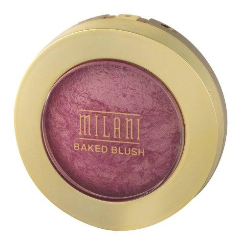 Milani Baked Powder Blush, Dolce Rosa [01] 0,12 Oz Inhalt: 2 Stück