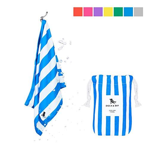 DOCK & BAY Cooling Handtuch, Unisex Erwachsene, Blau, S