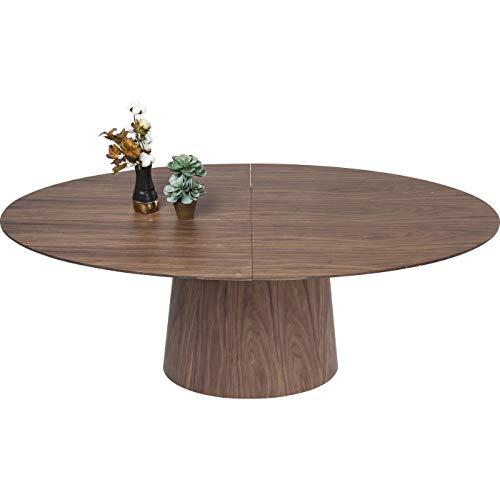 Table à rallonge Benvenuto noyer Kare Design