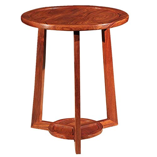 LILICEN LYJ Tavolino in Legno Massiccio Tavolino Snack Taiwan e la Cina Divano Tavolo Circolare Divano in Salotto Tavolino di Lavoro Iscritto Mobili for Ufficio Tavolino Vintage